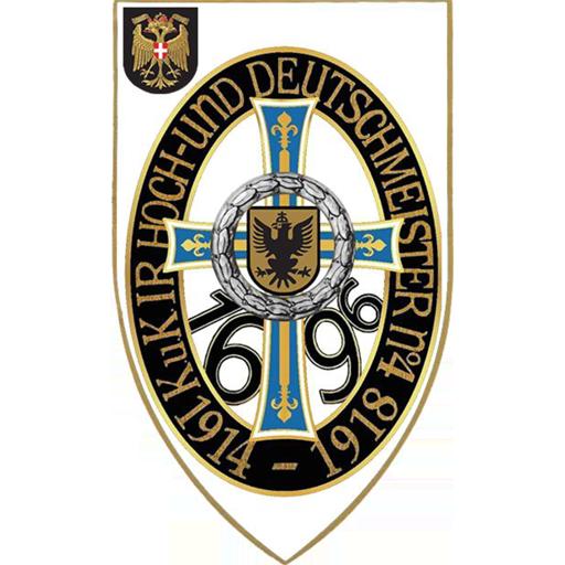 """Icon Traditionsverein k.u.k. Infanterieregiment """"Hoch-und Deutschmeister"""" Nr. 4 1914-1918"""