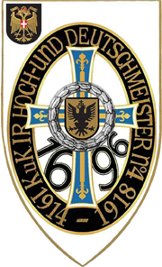 "Logo Traditionsverein k.u.k. Infanterieregiment ""Hoch-und Deutschmeister"" Nr. 4 1914-1918"